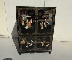 Buffet, cabinet chinois , meuble asiatique
