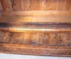 4-Armoire en loupe de noyer