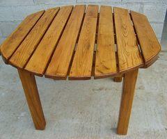 2-Table de jardin ou véranda pour extérieur, vendue