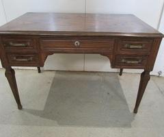 Bureau plat art déco des années 20-30 en chêne , vendu
