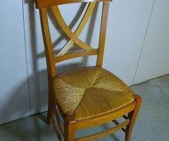 Chaise hêtre croisillon, Neuve