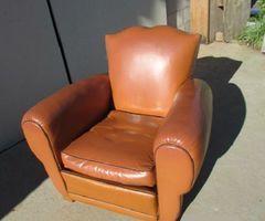Véritable fauteuil CLUB  années 60-70 , vendu