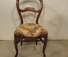Chaise ancienne Louis Philippe noyer