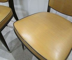 4 chaises Séventies Vintage