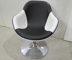 Fauteuil Design KOK bicolore, noir et blanc , vendu