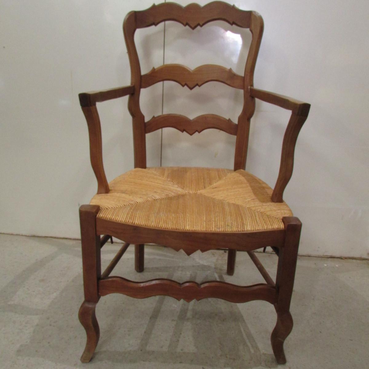 Fauteuils anciens paill s l 39 me du meuble ancien restaur - Meuble ancien restaure ...