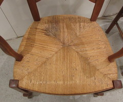 Fauteuils Anciens Paillés-L'Âme du Meuble Ancien Restauré