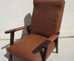 Fauteuil vintage, scandinave des années 50 ,vendu