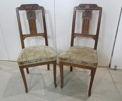 Paire de chaises art deco , réservées