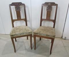 Paire de chaises art deco , vendu