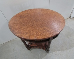 Guéridon ovale ancien , PROMO : 130 €