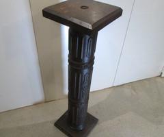 Colonne sellette en fonte et bois , PROMO : 160 €