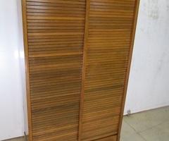 Classeur double à rideaux , meuble administratif ,vendu