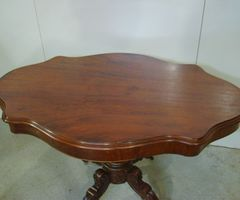 Table violon en acajou Louis Philippe