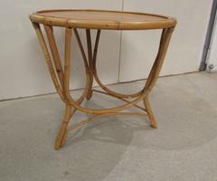 Table Basse Ancienne Rotin - Table de Jardin Ancienne