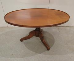 Table Salon Ovale Merisier - Table Basse ,vendu