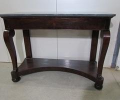 Table console en acajou Napoléon III ,vendu