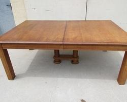 Grande table familiale de 2 mètres à 3,4 mètres en chêne