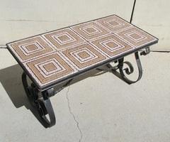 Belle table basse Vintage