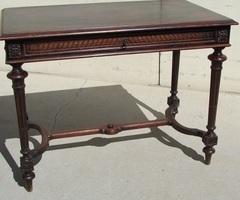 Table d'écriture Napoléon III en ébène de macassar ,vendu