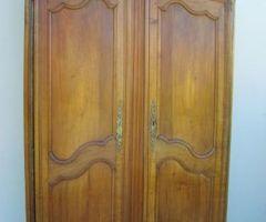 1-Armoire Louis XV en merisier , vendu