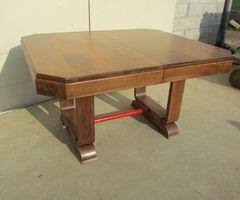 4-Table Art-déco, en noyer massif ,vendu