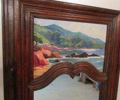 2-Miroir trumeau , très ancien , vendu