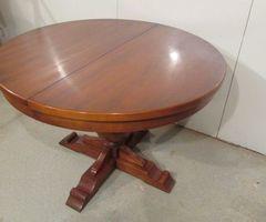 Table ronde ouvrante Louis Philippe ,vendu