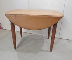 Table à abattant en chêne ,vendu