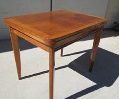 Table des années 60 avec rallonges ,vendu