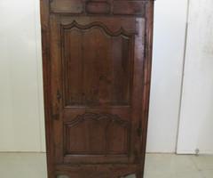 Bonnetière authentique , 18ème siècle en merisier massif ,vendu
