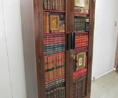 Bibliothèque art-déco , très originale