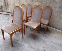 6 chaises de salle à manger,style scandinave ,vendu