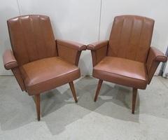 2 fauteuils Vintage, des années 70 , vendu