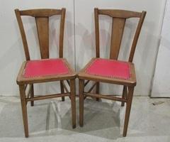 Paire de chaises des années 50,vendu