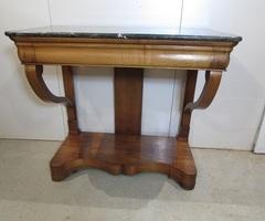 Console Louis Philippe en merisier , vendu