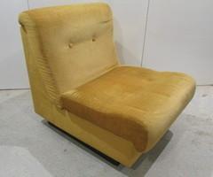 Chauffeuse  , fauteuil Séventies , vendu