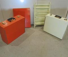 Commode-mallette de présentation Séventies ,vendu