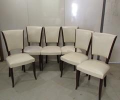 6 Chaises Années 50-60, Chaises Vintage