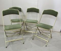 Chaises Pliantes Métal Camping Pique-Nique d' Appoint ,vendu