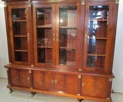 Bibliothèque de style Empire , retour d'Egypte ,vendu