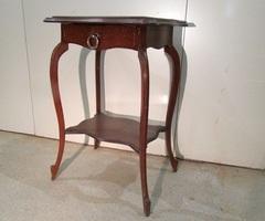 Table sellette avec tiroir et marbre ,vendu