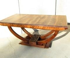 Table rectangulaire d'époque Art déco 1920-1930 ,vendu
