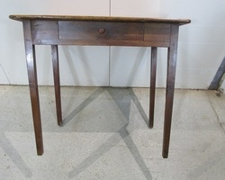 Table d'écriture en merisier avec tiroir