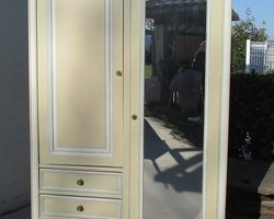 Armoire penderie sbabby chic