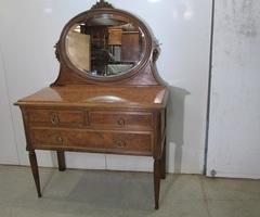 Commode coiffeuse art déco des années 1920-1930 , vendu