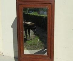 Armoire à glace , bonnetière , lingère une porte 1900 , vendu