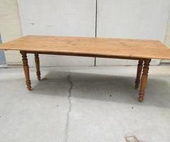 Grande table de ferme , table drapier