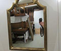 Petit miroir ancien, 19è , vendu