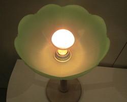 Lampe à poser , tulipe